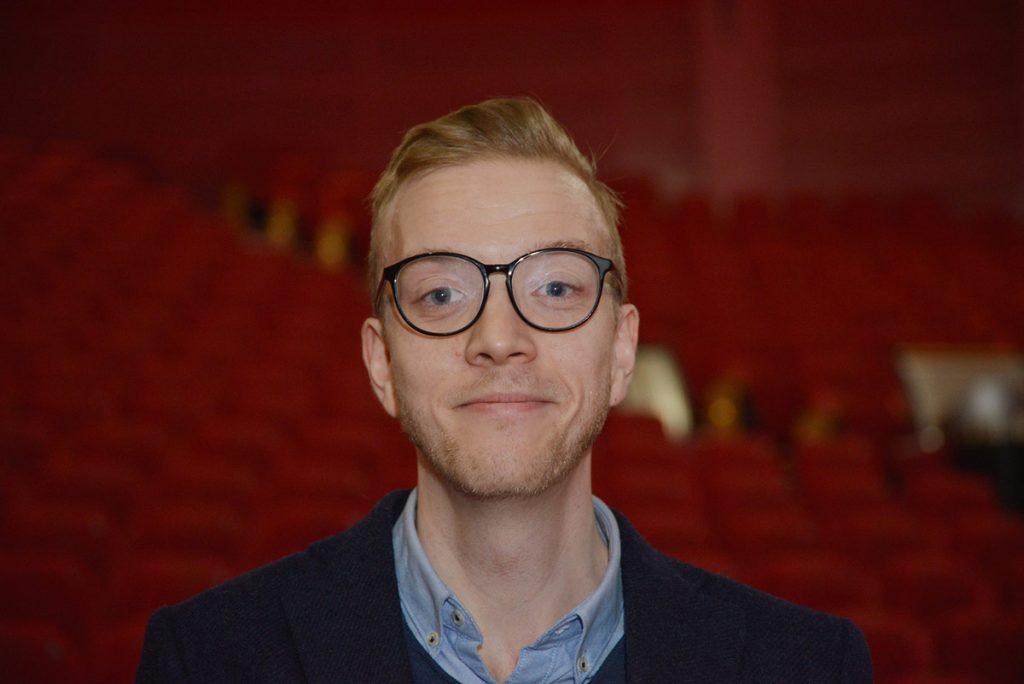 Markedsdirektør Erlend Bøksle i Nordisk Film Kino (NFK). Foto: Sigurd Moe Hetland, KINOMAGASINET
