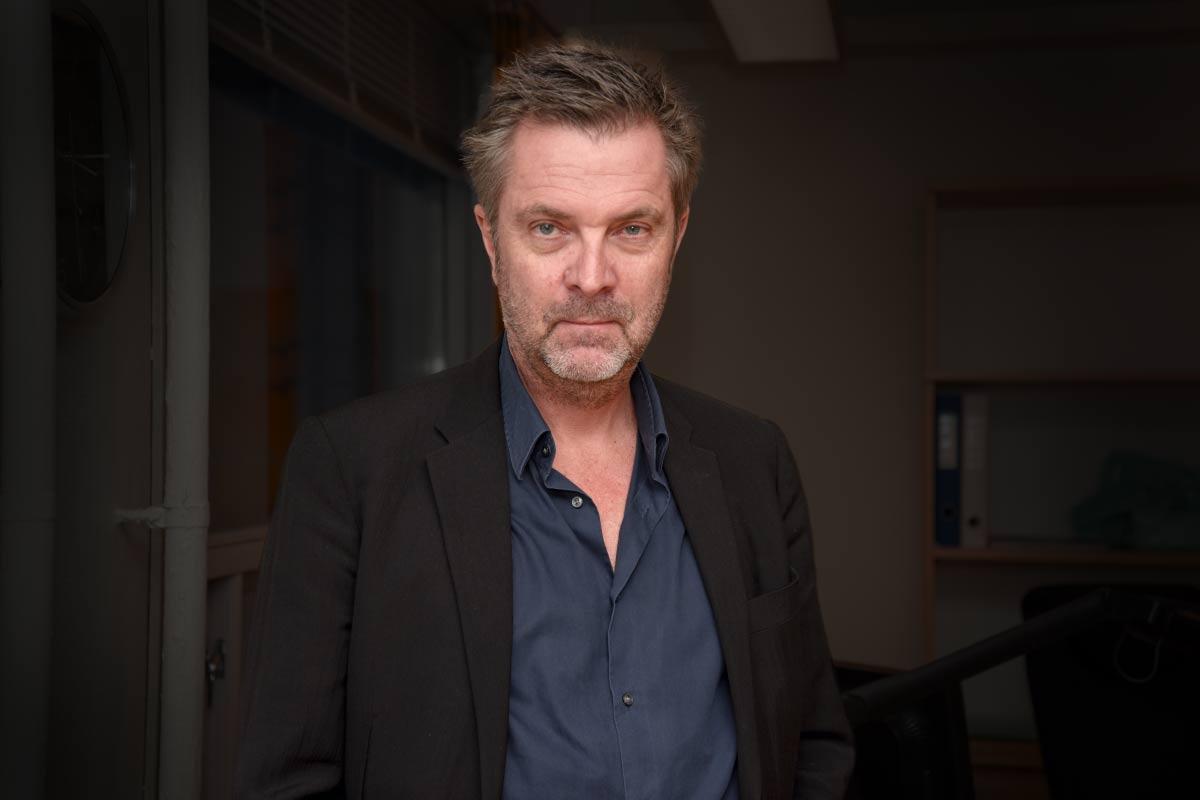Adm. direktør Guttorm Petterson i Film & Kino. Foto: John Berge, KINOMAGASINET.no ©