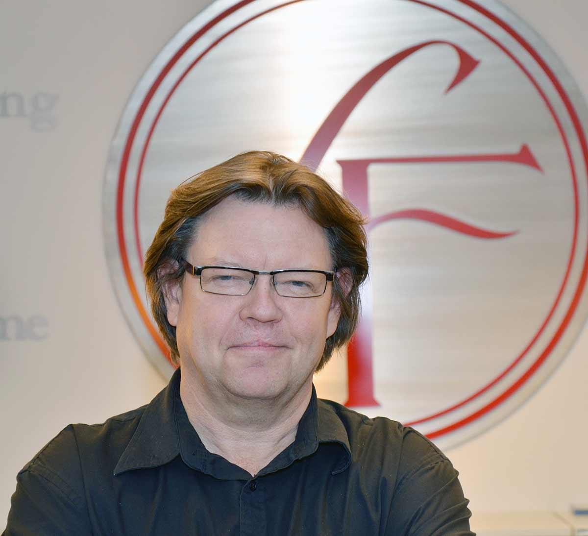 Åge Hoffart, leder for kinoavdelingen hos SF Norge AS. Foto: John Berge, KINOMAGASINET ©