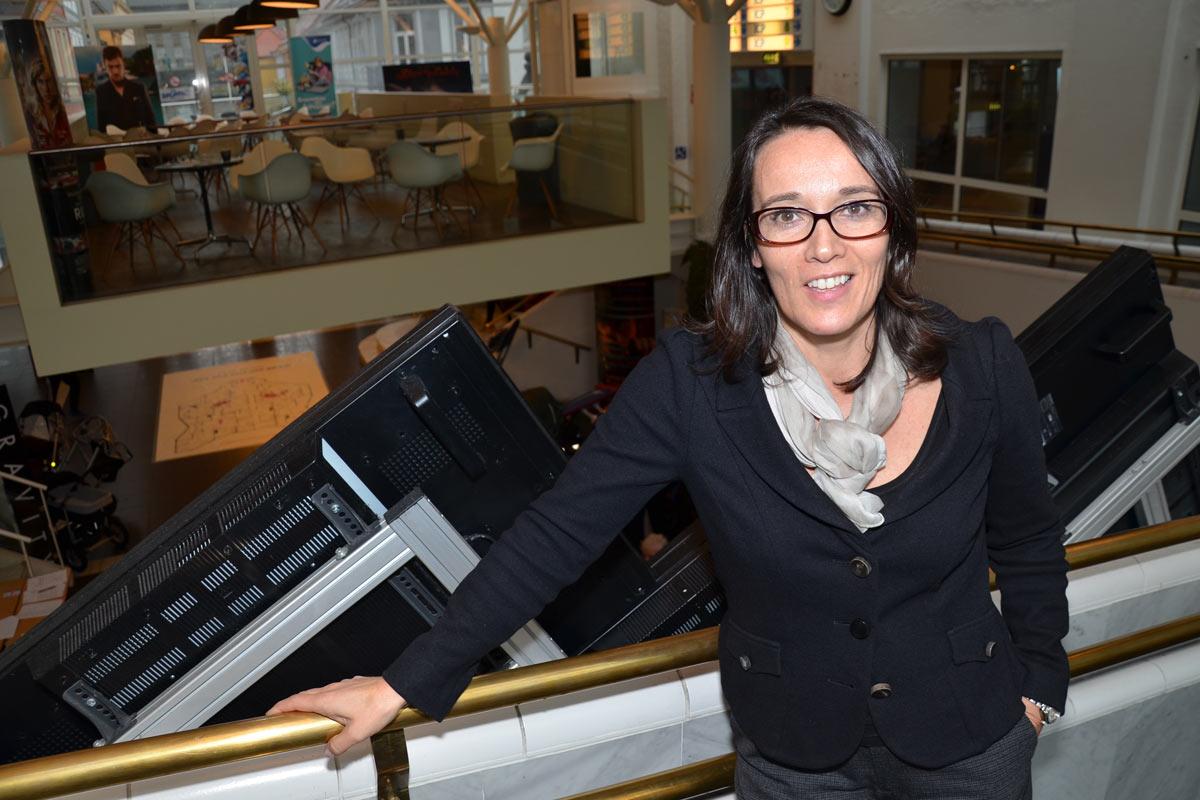 Elisabeth Halvorsen er direktør for Bergen kino. Foto: John Berge
