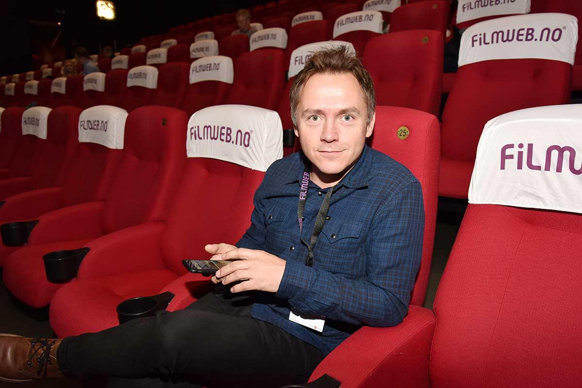 Ken Håkegård (41) er ansatt i den nyopprettede stillingen som produktsjef i Filmweb. Foto: John Berge