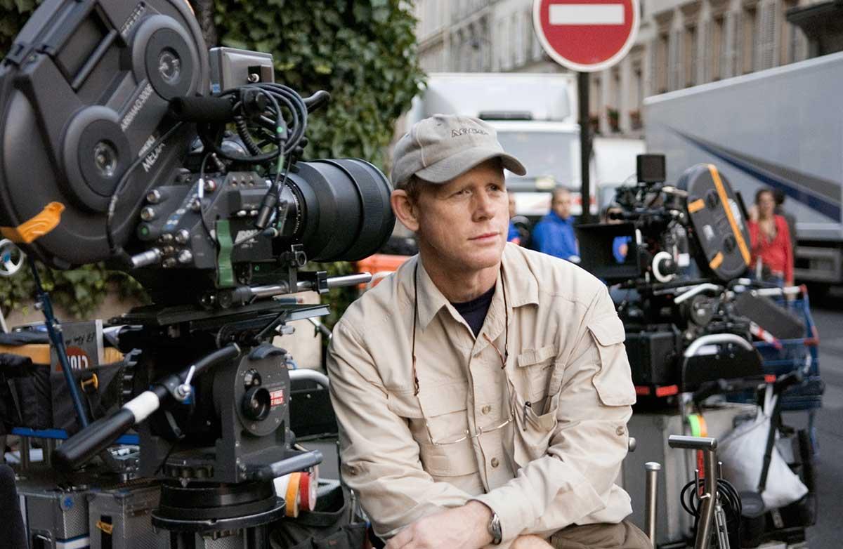 Regissør Ron Howard under innspillingen av «The Da Vinci Code». Foto: Sony Pictures.