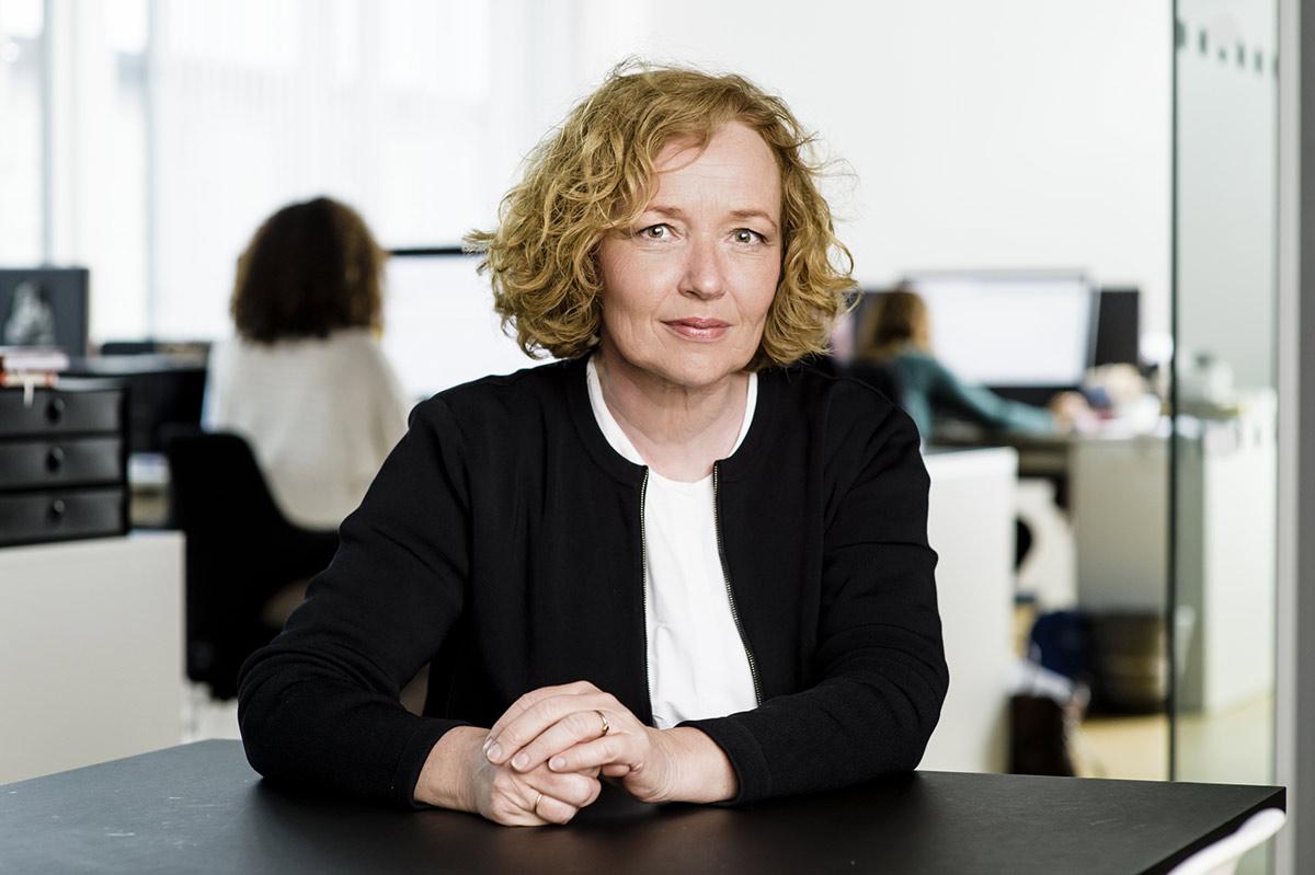 Svanhild Sørensen, daglig leder i Kulturmeglerne. Foto: Kulturmeglerne