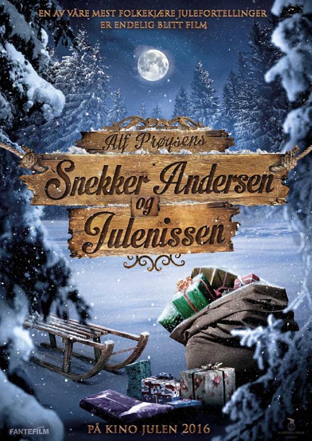 Snekker Andersen og Julenissen er kinoklar 11. november 2016.
