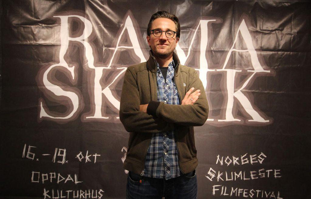 Regissør Nick Jangerius fra Nederland var tilstede for å presentere sin siste film, The Windmill Massacre.