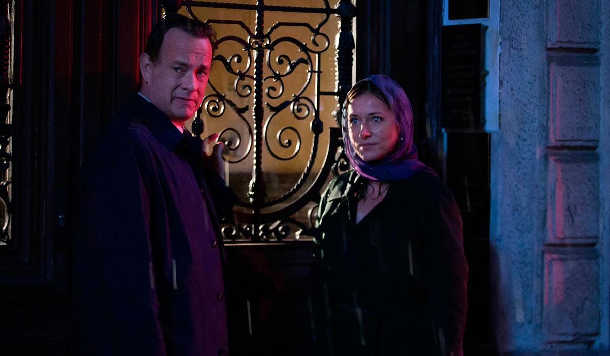 GOD KJEMI: Tom Hanks og Sidse Babett Knudsen samarbeider godt i Inferno.