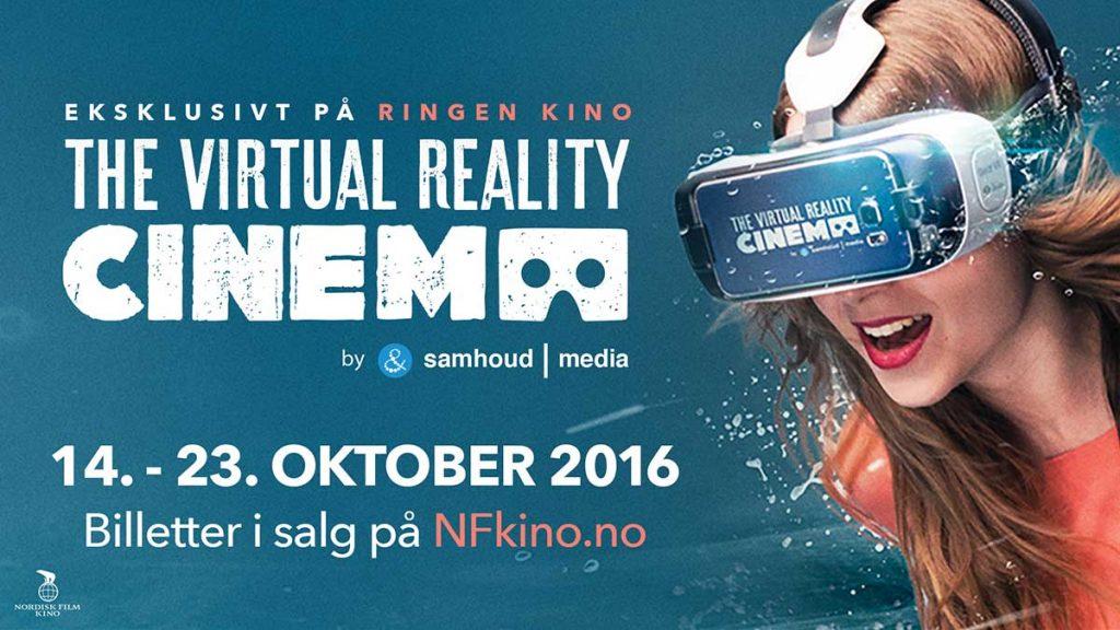 The Virtual Reality Cinema blir nå en realitet i Oslo noen dager.