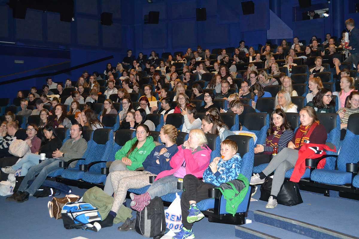 Kinogjester i Prinsen Kinosenters hovedsal. Foto: Trondheim Kino