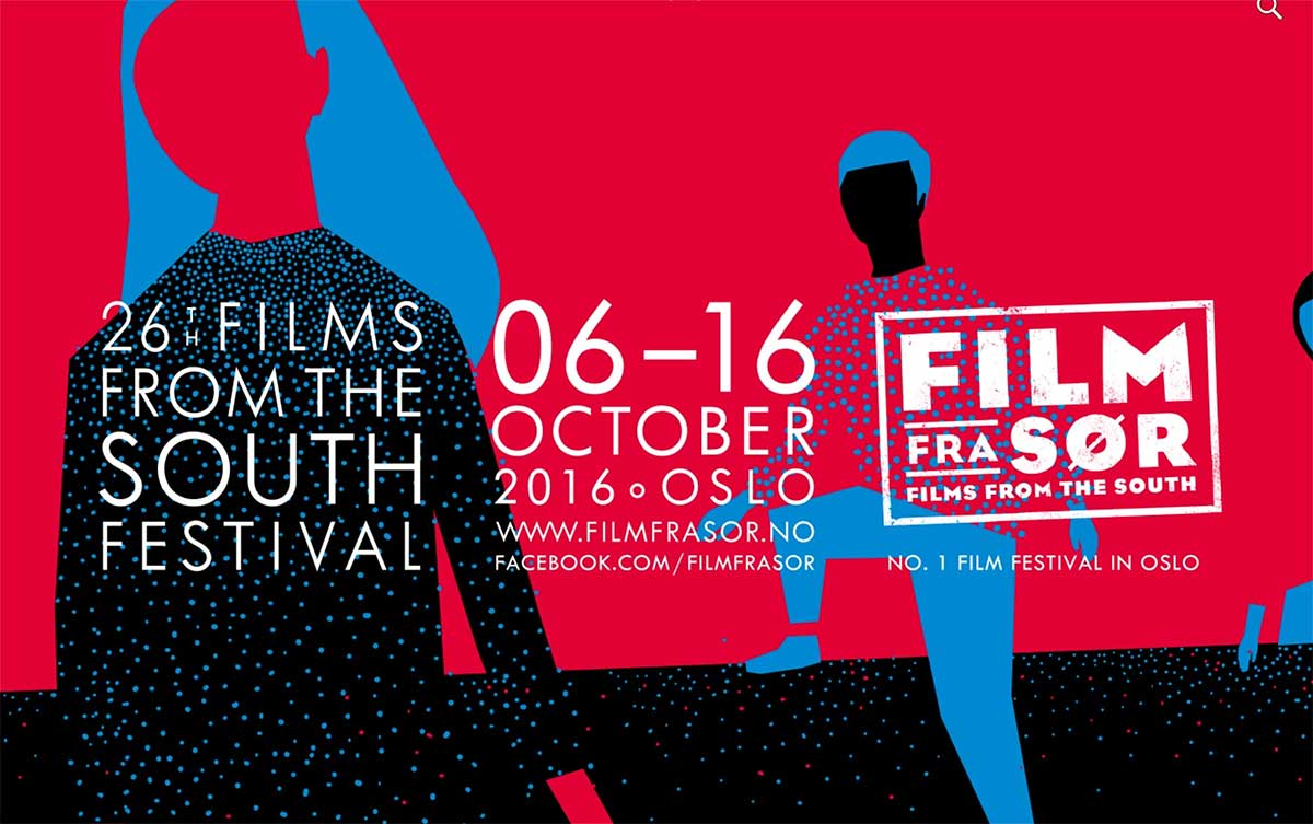 Film fra Sør 2016 varer fra 6. oktober til 16. oktober