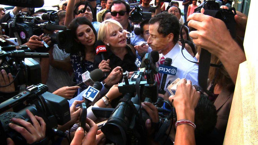 Anthony Weiner fikk et «helvetes leven» da hans sex-meldinger ble avslørt av mediene. Foto: Tour De Force