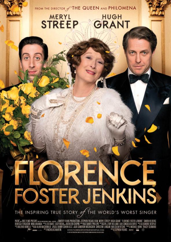 Florence Foster Jenkins-kinoplakat.