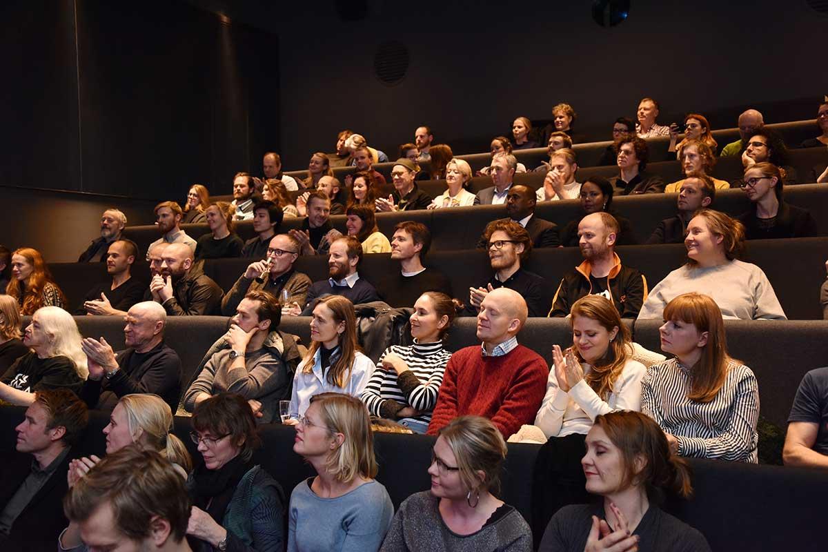 GJESTER: Kunstnernes Hus Kino i Oslo hadde første åpningsdag fredag 18. november 2016. Foto: John Berge, KINOMAGASINET