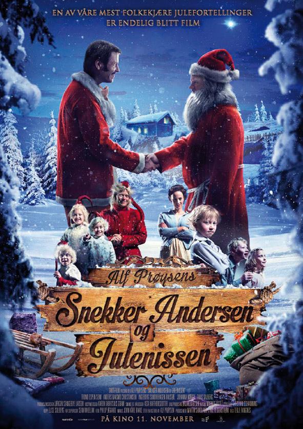 Snekker Andersen og Julenissen-filmplakat.
