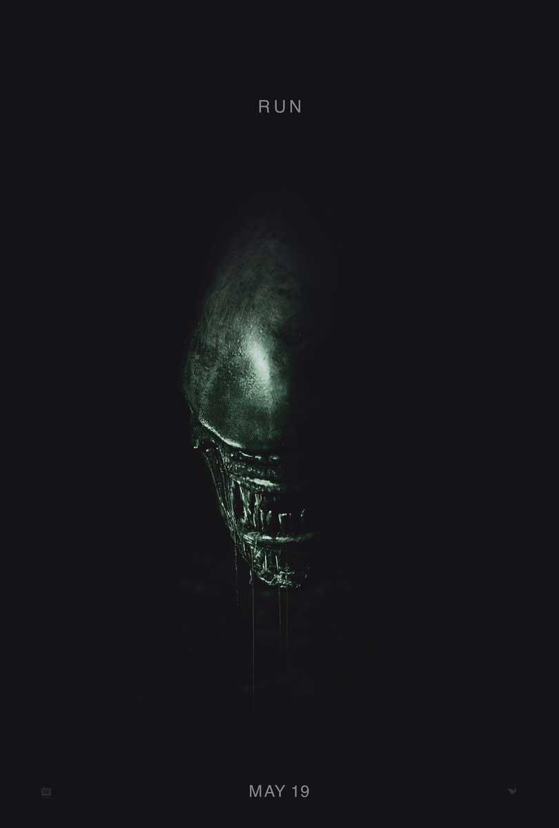 TEASERPLAKAT: Alien: Covenant.