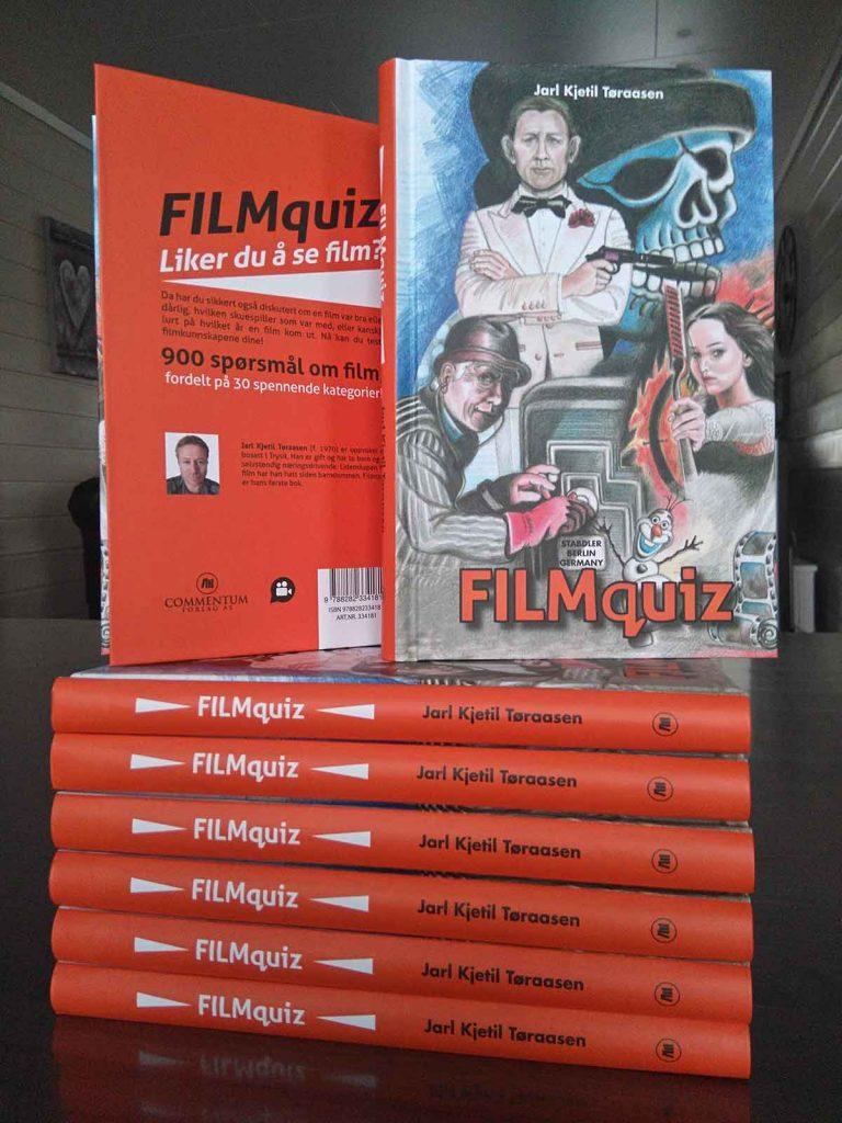 Ny norsk quizbok: «Filmquiz.»