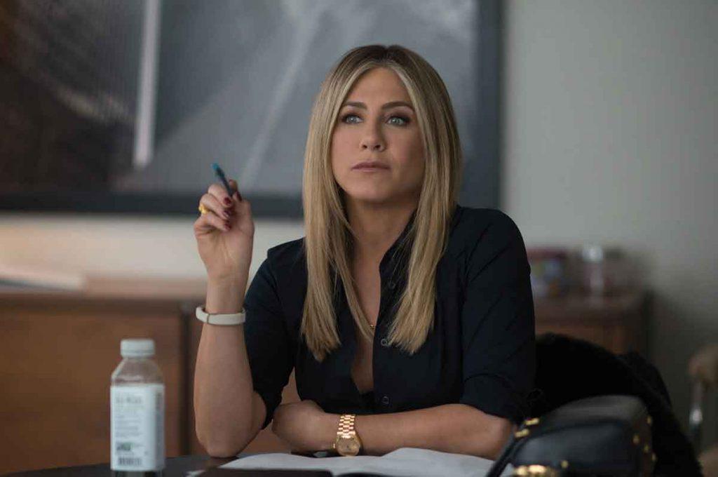 Jennifer Aniston som Carol Vanstone i Office Christmas Party.