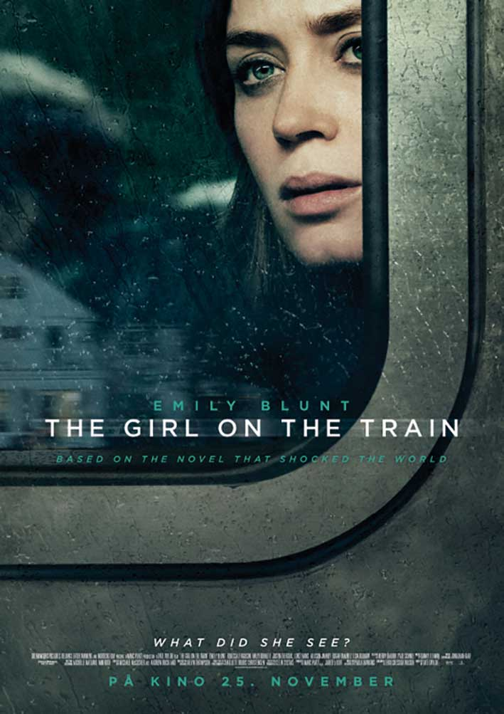 FILMPLAKAT: The Girl on the Train.