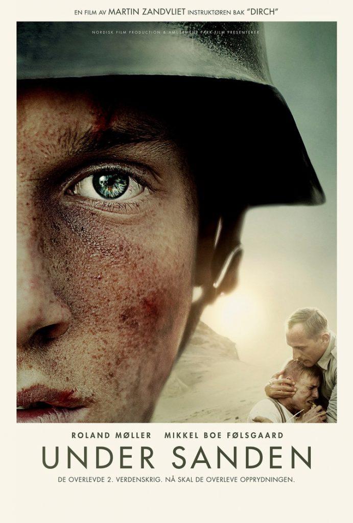 nder sanden norsk filmplakat.