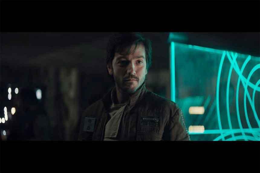 Diego Luna som Cassian Andor.