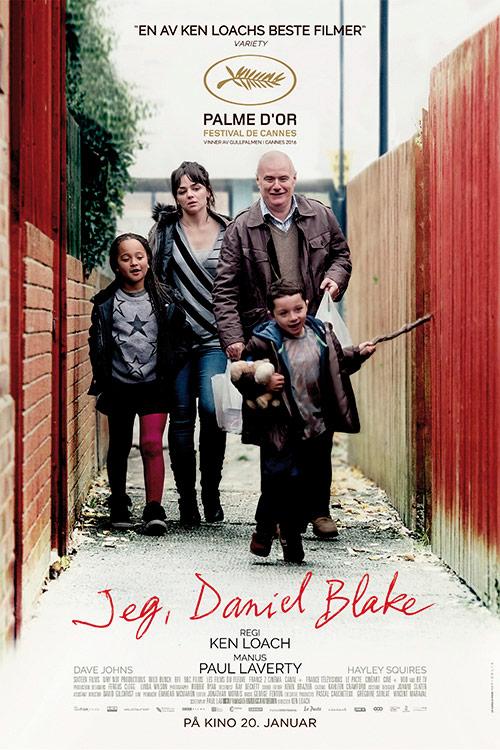 Jeg, Daniel Blake-filmplakat.