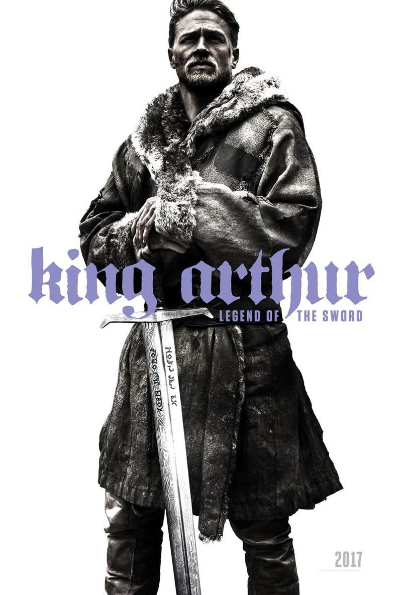 Charlie Hunnam som Kong Arthur i Guy Ritchies King Arthur: Legend of the Sword.