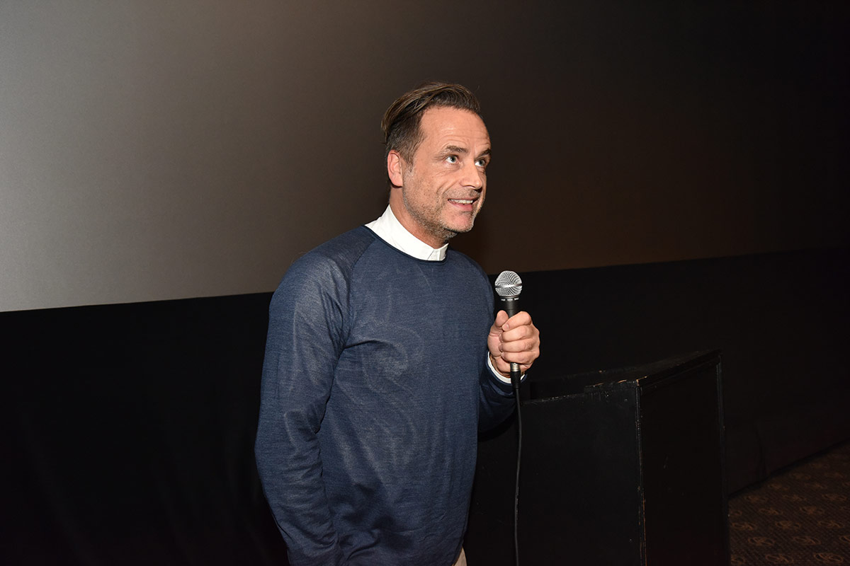 Programsjef Lars Fuglevik hos SF Kino er tønsbergenser og var også kinosjef på samme sted i årene 1997 til 2006. Foto: John Berge, KINOMAGASINET.no ©