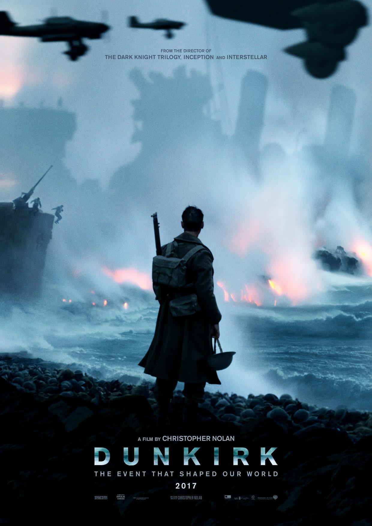 Christopher Nolan lover en storslagen krigsfilm med Dunkirk (19.07.)