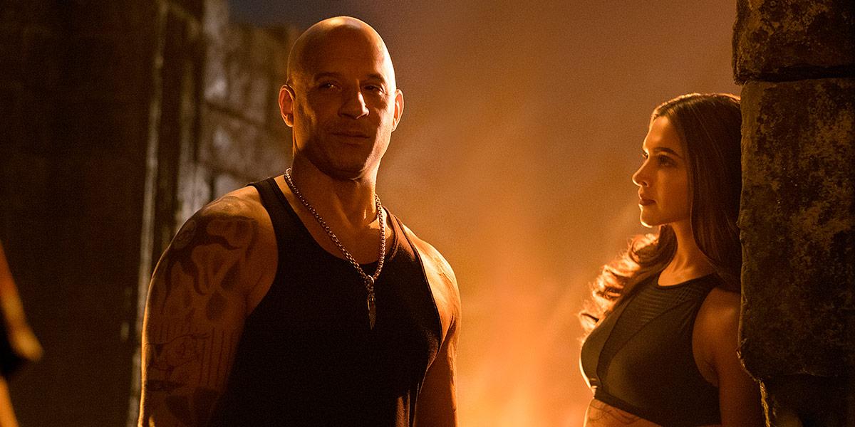 I xXx: Return of Xander Cage spiller Vin Diesel (49) sammen med den indiske superstjernen Deepika Padukone (30).