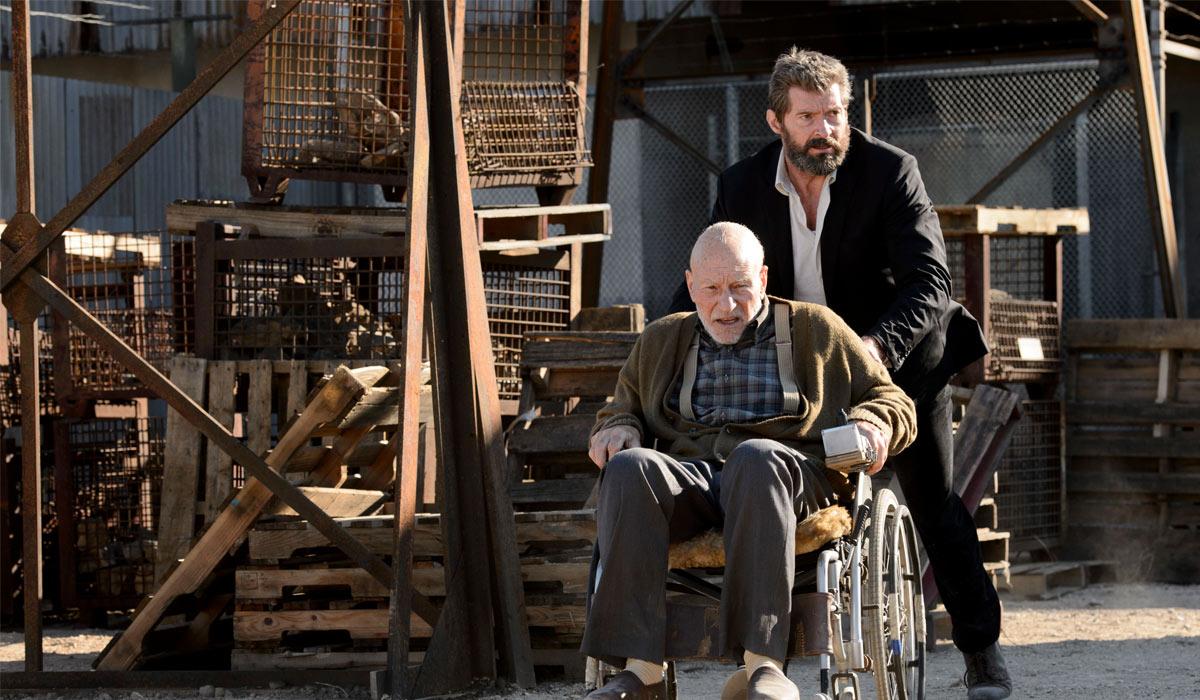 HJELP FRA EN VENN: Logan (Hugh Jackman) må hjelpe Charles Xavier (Patrick Stewart) i Logan: The Wolverine.