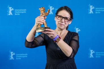Gullbjørn-vinneren Ildikó Enyedi. Foto: Berlin International Film Festival